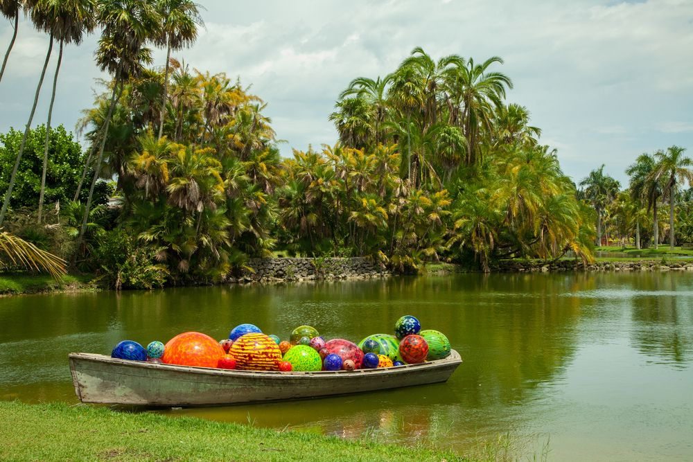 Dale Chihuly Exhibition at Fairchild Tropical Garden