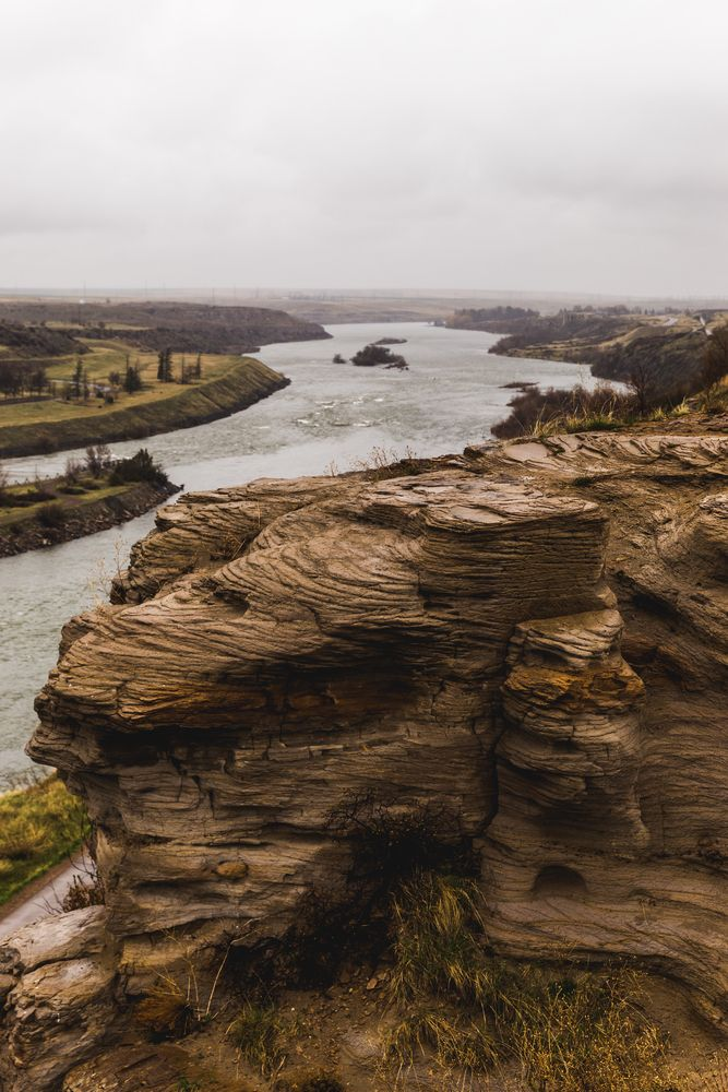 Missouri River in Great Falls, Montana
