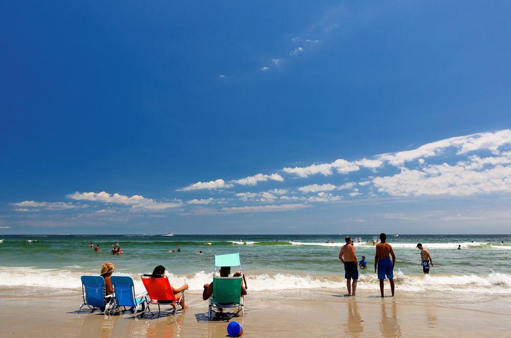 View of Narragansett Town Beach