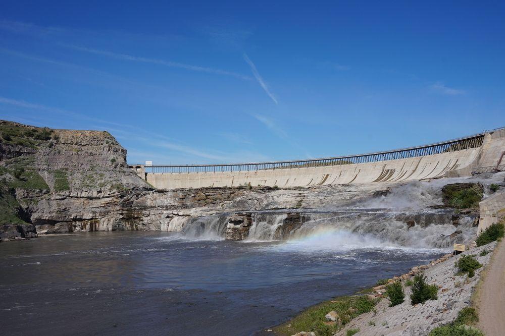 Beautiful view of Great Falls