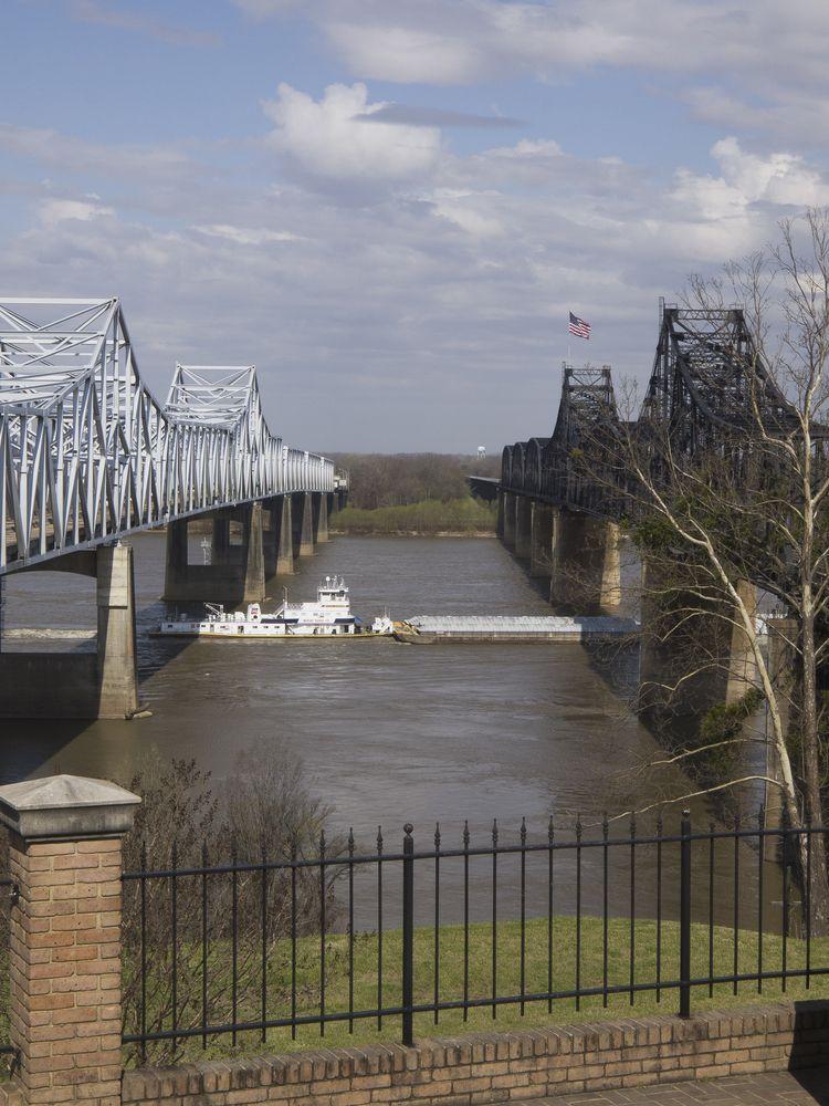 View of Old Vicksburg Bridge
