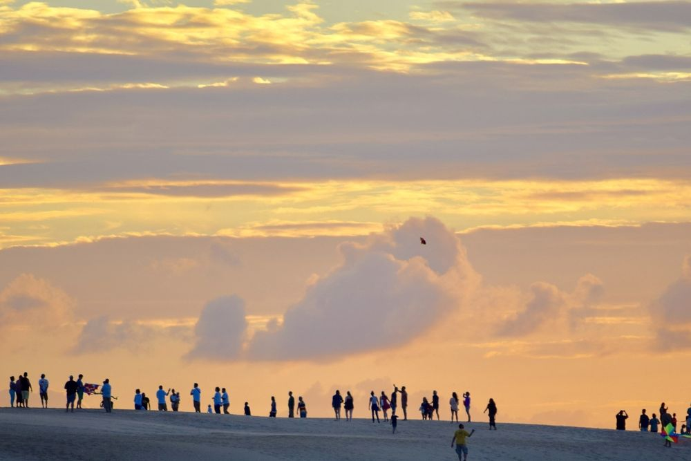 View of Outer Banks Kite Festivals