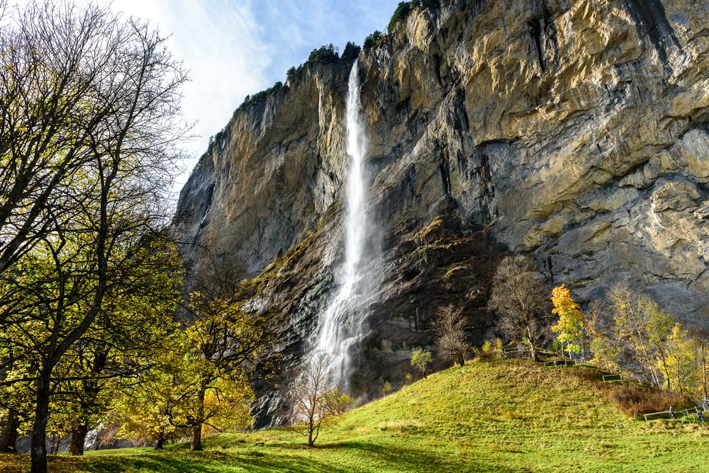 Waterfalls of Lauterbrunnen Valley