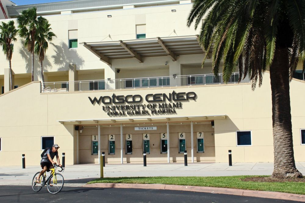 Outside View of Watsco Center